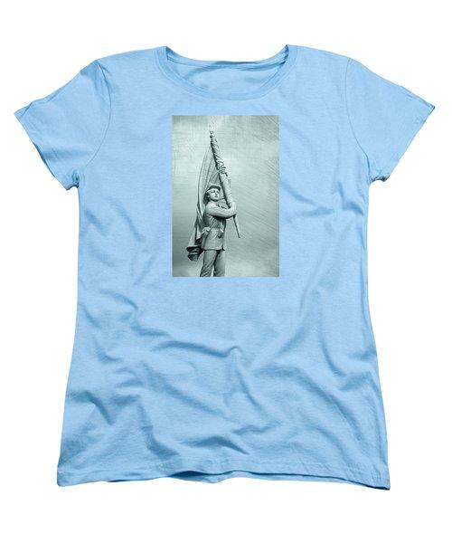 Antietam Civil War Monument Women's T-Shirt (Standard Cut) by Phil Cardamone