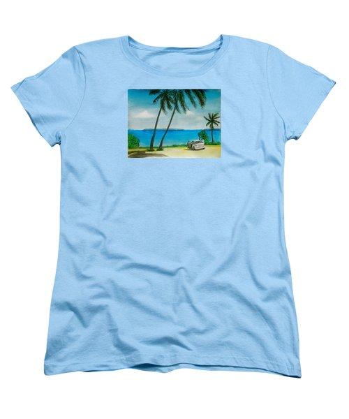 Antigua Women's T-Shirt (Standard Cut) by Frank Hunter