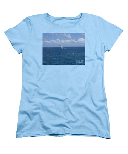 Antigua - In Flight Women's T-Shirt (Standard Cut) by HEVi FineArt
