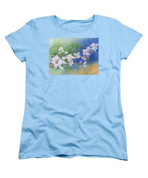 Apple Blossoms 2 Women's T-Shirt (Standard Cut) by Christine Lathrop