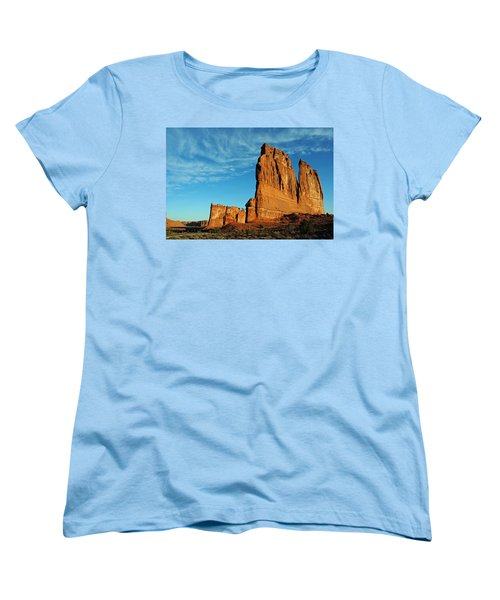 Women's T-Shirt (Standard Cut) featuring the photograph Arches National Park 47 by Jeff Brunton