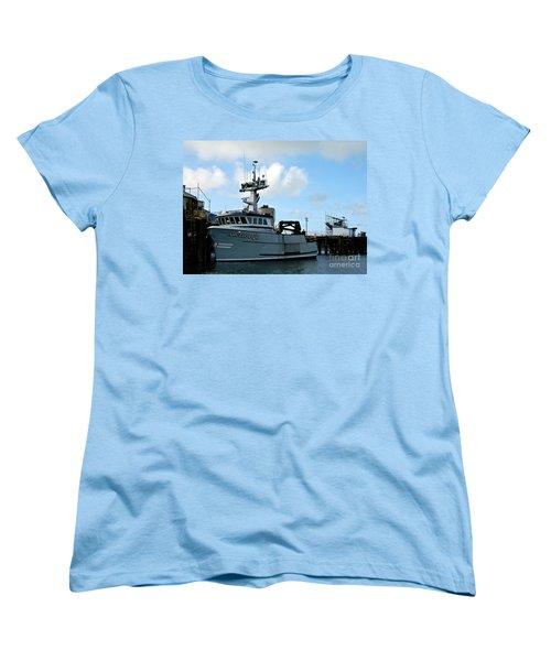 Arctic Fox Offload Women's T-Shirt (Standard Cut) by Chalet Roome-Rigdon