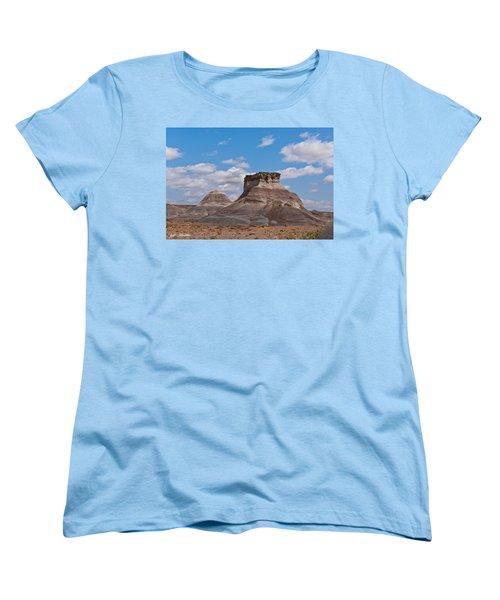 Arizona Desert And Mesa Women's T-Shirt (Standard Cut) by Jeff Goulden