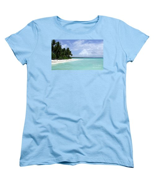 Women's T-Shirt (Standard Cut) featuring the photograph Arno Island by Andrea Anderegg