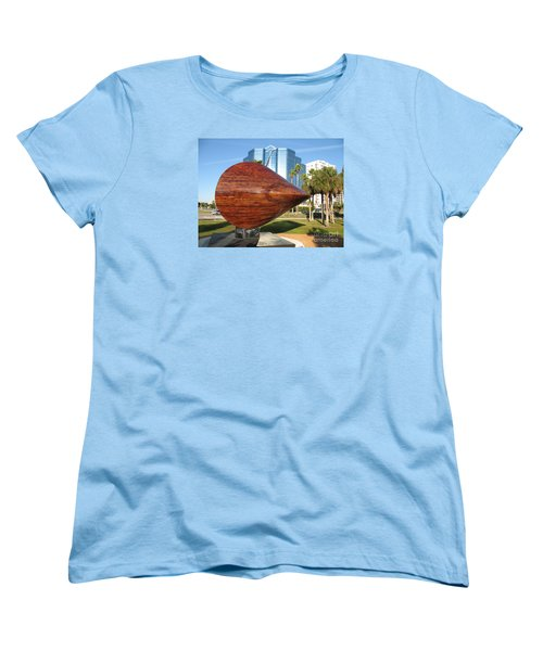 Art 2009 At Sarasota Waterfront Women's T-Shirt (Standard Cut) by Christiane Schulze Art And Photography
