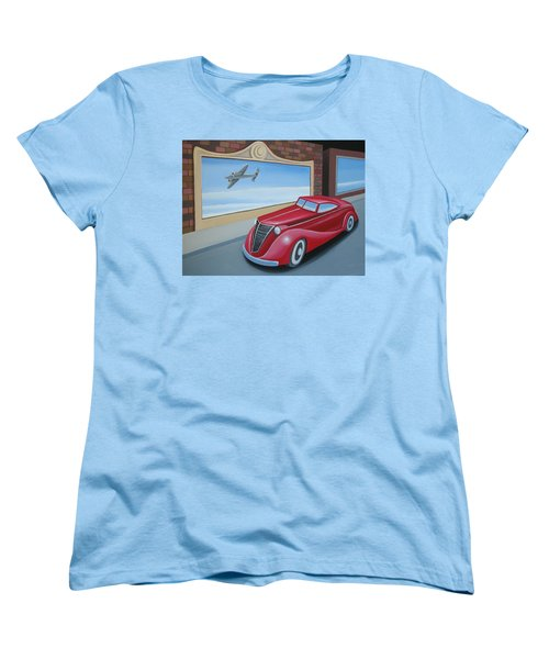 Art Deco Coupe Women's T-Shirt (Standard Cut) by Stuart Swartz