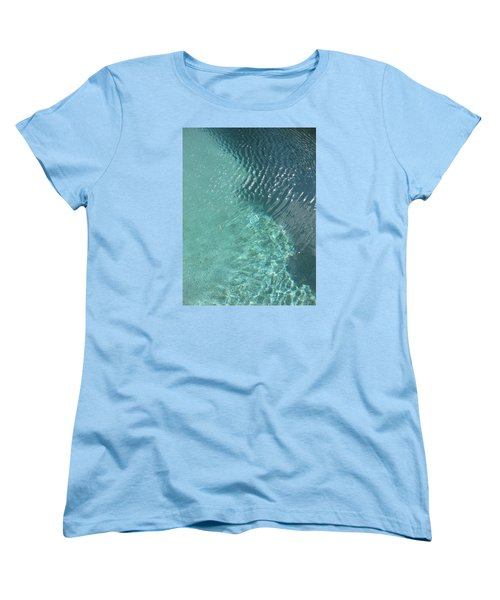 Art Homage David Hockney Swimming Pool Arizona City Arizona 2005 Women's T-Shirt (Standard Cut) by David Lee Guss