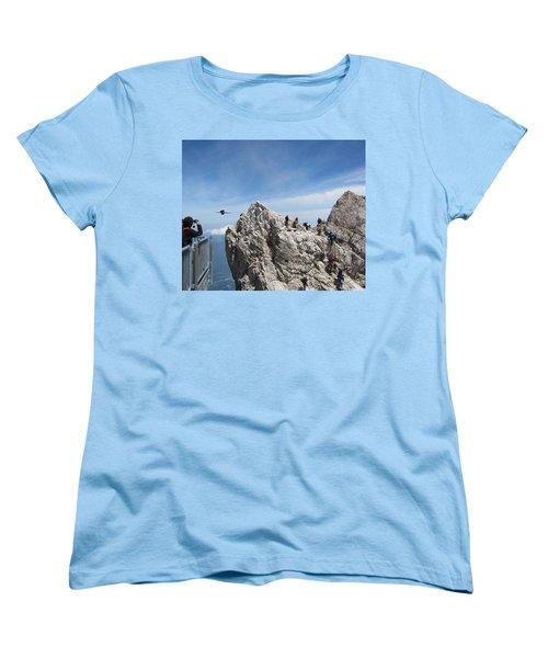 Women's T-Shirt (Standard Cut) featuring the photograph As The Crow Flies 1 by Pema Hou