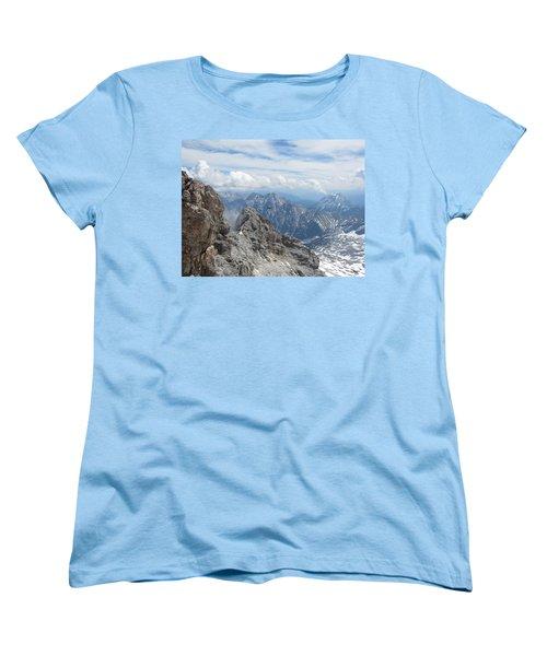 Women's T-Shirt (Standard Cut) featuring the photograph As The Crow Flies by Pema Hou