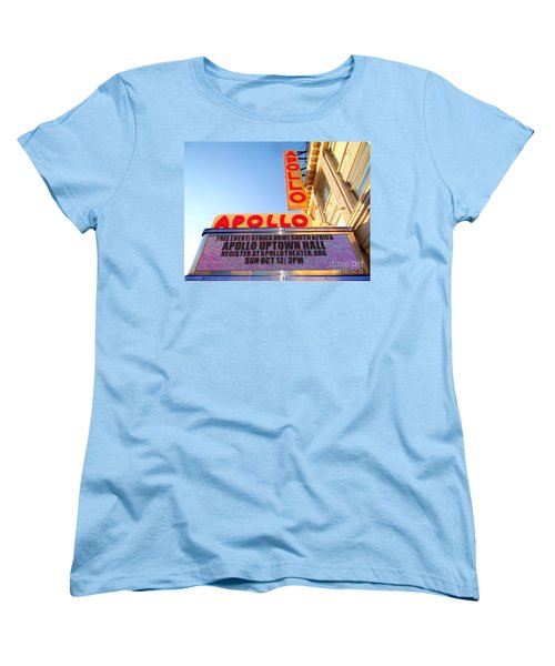 At The Apollo Women's T-Shirt (Standard Cut) by Ed Weidman