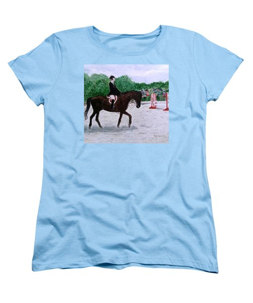 At The June Fete Women's T-Shirt (Standard Cut) by Vickie G Buccini