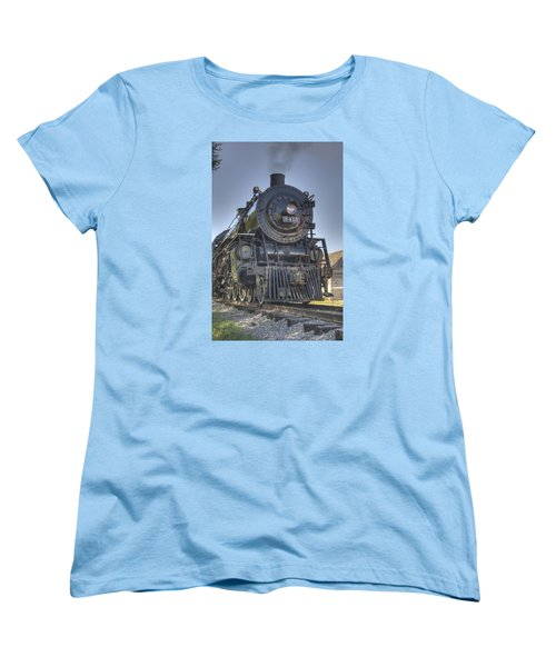 Atsf 3415 Head On Women's T-Shirt (Standard Cut) by Shelly Gunderson