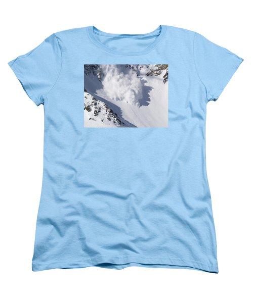 Avalanche IIi Women's T-Shirt (Standard Cut) by Bill Gallagher
