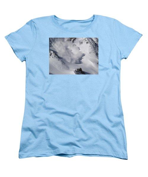 Avalanche Iv Women's T-Shirt (Standard Cut) by Bill Gallagher