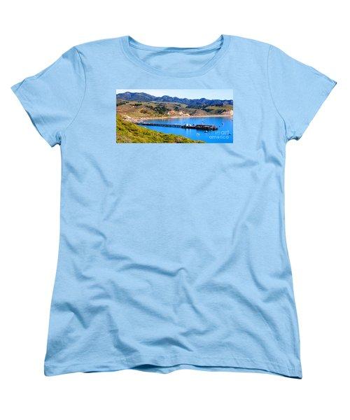 Avila Beach California Fishing Pier Women's T-Shirt (Standard Cut)