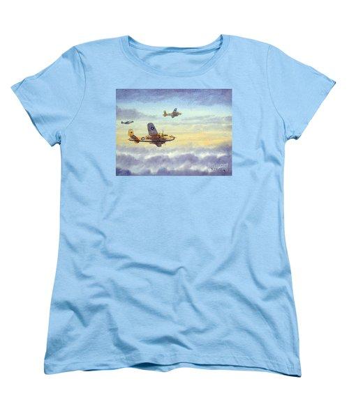 B-25 Mitchell Women's T-Shirt (Standard Cut) by Bill Holkham