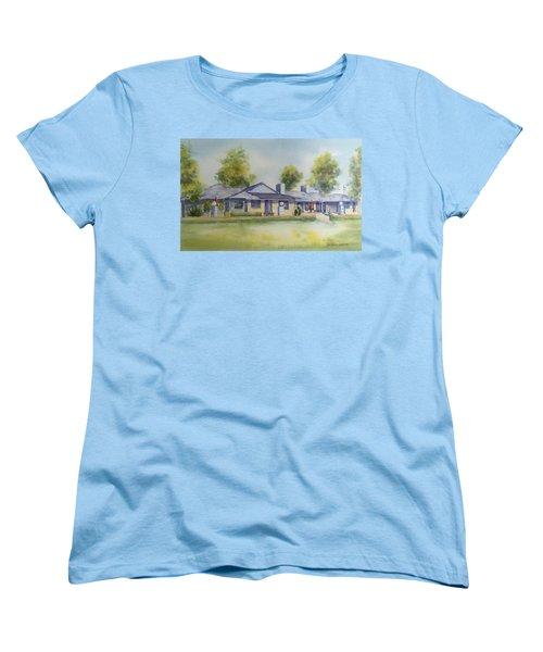 Back Of House Women's T-Shirt (Standard Cut) by Debbie Lewis