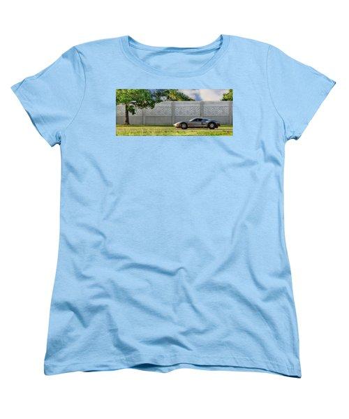 Badass Petunia Women's T-Shirt (Standard Cut) by Sennie Pierson