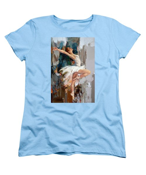 Ballerina 22 Women's T-Shirt (Standard Cut) by Mahnoor Shah