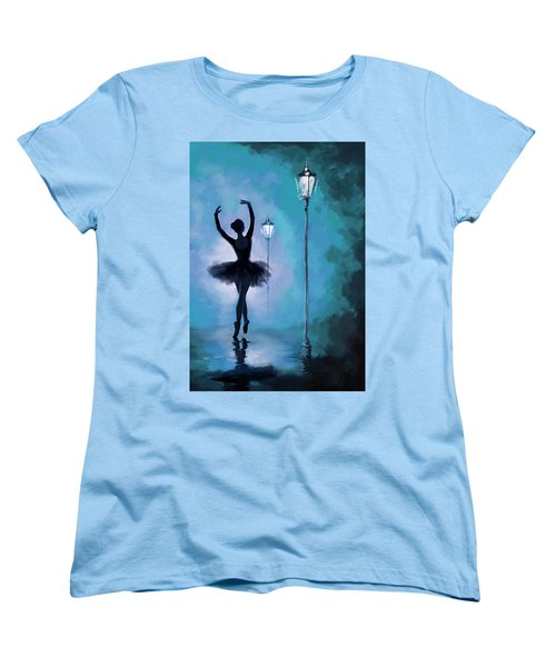 Ballet In The Night  Women's T-Shirt (Standard Cut)