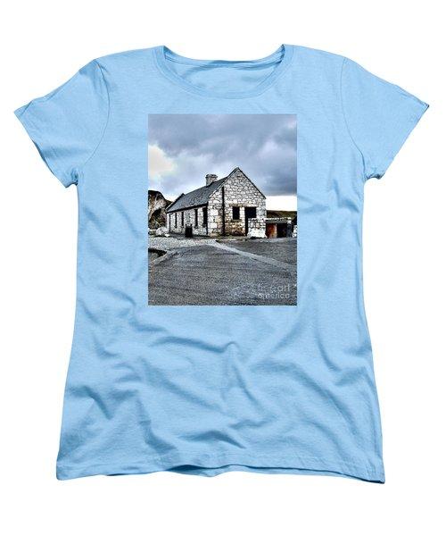 Ballintoy Stone House Women's T-Shirt (Standard Cut) by Nina Ficur Feenan