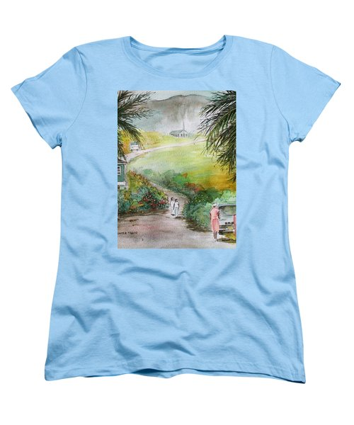 Barbados Women's T-Shirt (Standard Cut) by Frank Hunter
