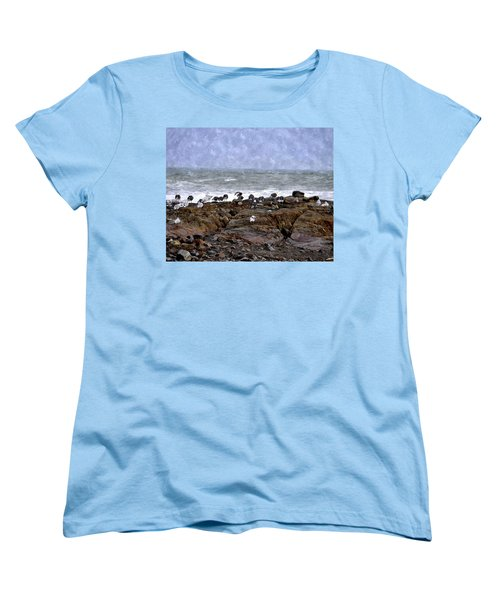 Beach Goers Bgwc Women's T-Shirt (Standard Cut)