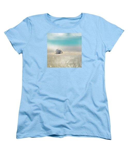 Beach House Women's T-Shirt (Standard Cut) by Laura Fasulo