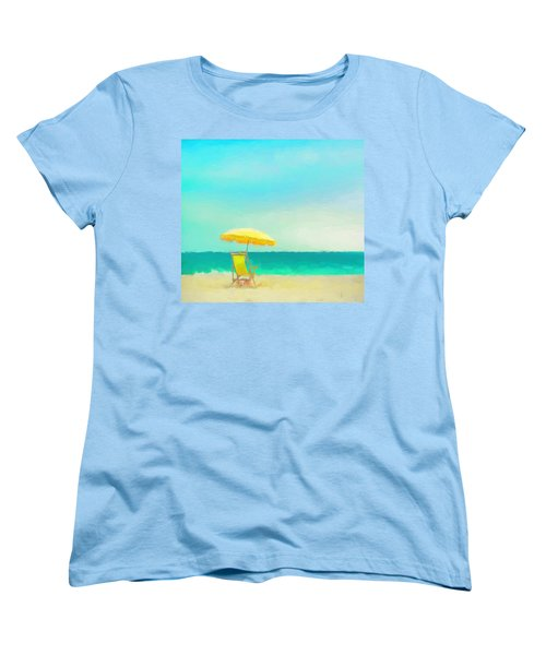 Got Beach? Women's T-Shirt (Standard Cut) by Douglas MooreZart