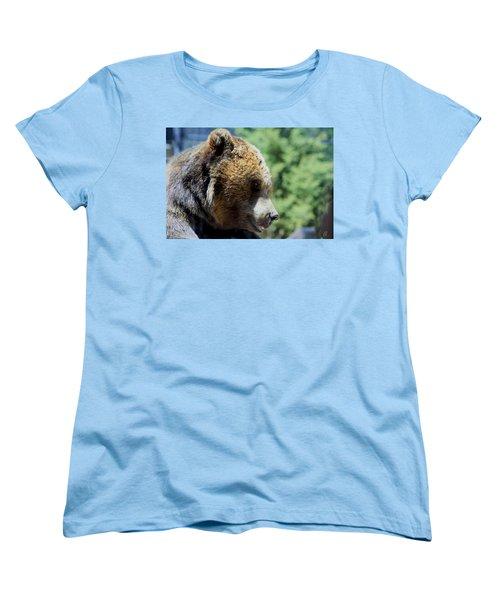 Bear Women's T-Shirt (Standard Cut) by Chris Thomas