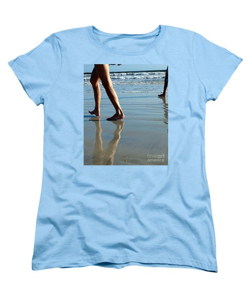 Beat Feet Women's T-Shirt (Standard Cut)