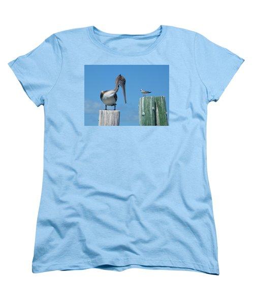 Women's T-Shirt (Standard Cut) featuring the photograph Beat It by Greg Graham