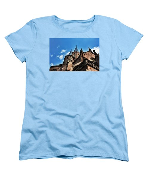Beautiful Church  Women's T-Shirt (Standard Cut) by Daniel Precht