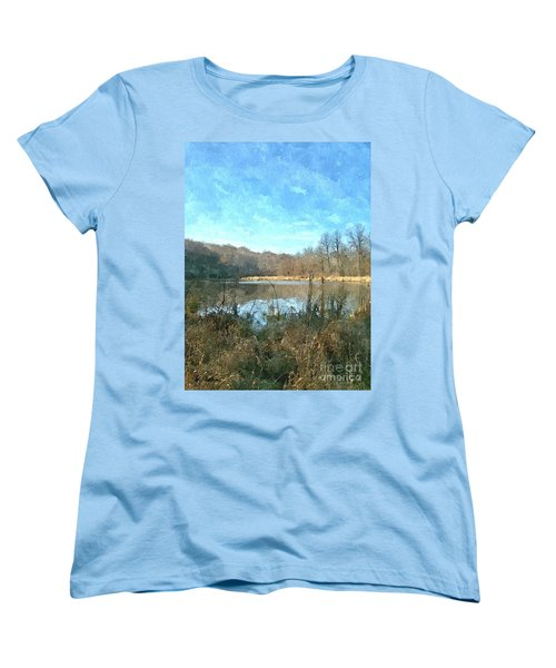 Women's T-Shirt (Standard Cut) featuring the photograph Beautiful Day 2 by Sara  Raber