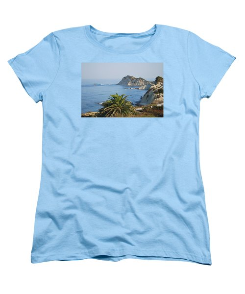 Women's T-Shirt (Standard Cut) featuring the photograph Beautiful Erikousa 1 by George Katechis