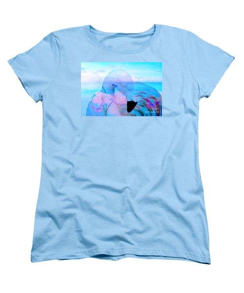 Beautiful Flamingo Women's T-Shirt (Standard Cut)