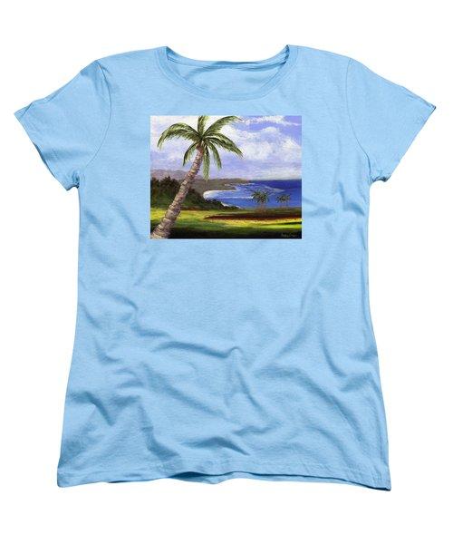 Beautiful Kauai Women's T-Shirt (Standard Cut) by Jamie Frier