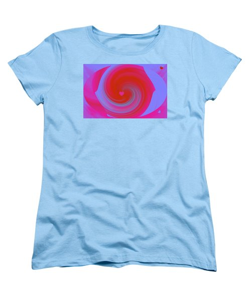 Women's T-Shirt (Standard Cut) featuring the digital art Beauty Marks by Catherine Lott