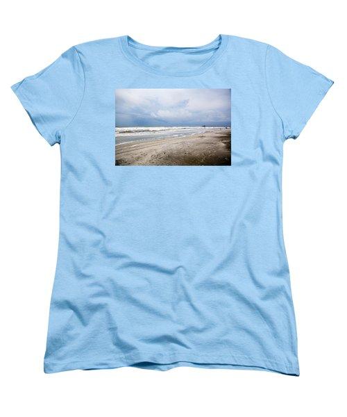 Women's T-Shirt (Standard Cut) featuring the photograph Before The Storm by Sennie Pierson