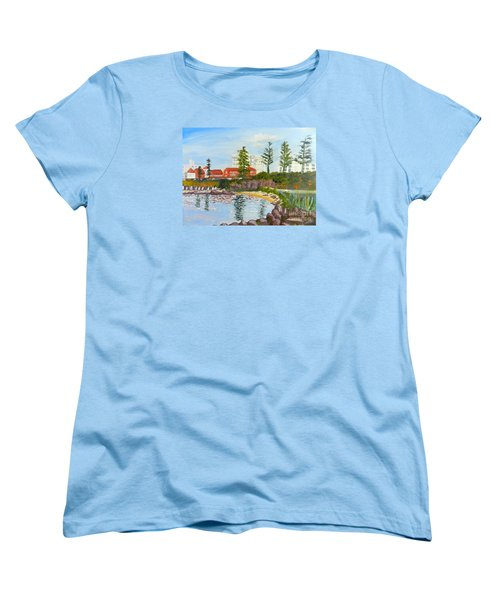 Belmore Basin From The North Sea Wall Women's T-Shirt (Standard Cut)