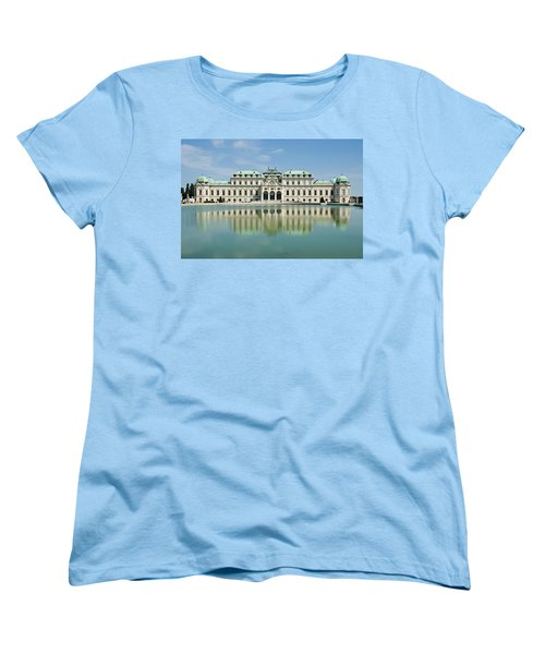 Women's T-Shirt (Standard Cut) featuring the photograph Belvedere Palace by Jeremy Voisey