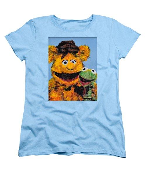 Best Friends Women's T-Shirt (Standard Cut) by Alys Caviness-Gober