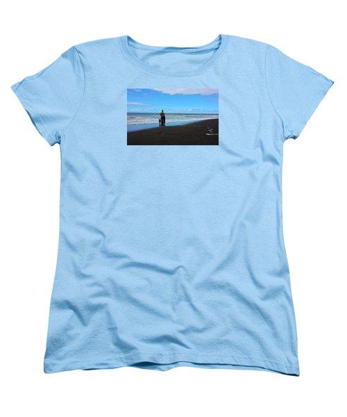 Best Friends Boogie Women's T-Shirt (Standard Cut) by Venetia Featherstone-Witty
