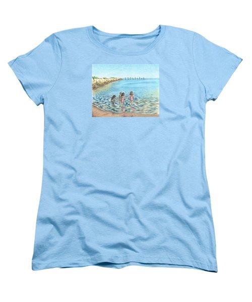 Best Friends Women's T-Shirt (Standard Cut) by Troy Levesque