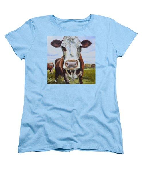 Betsy Women's T-Shirt (Standard Cut) by Donna Tuten
