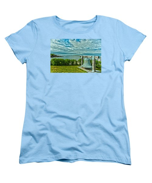 Biddeford Pool Bell Women's T-Shirt (Standard Cut) by Brenda Jacobs
