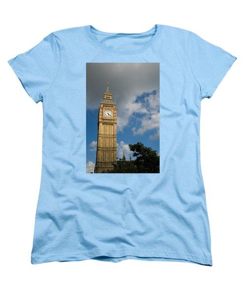 Women's T-Shirt (Standard Cut) featuring the photograph Big Ben by Jeremy Voisey