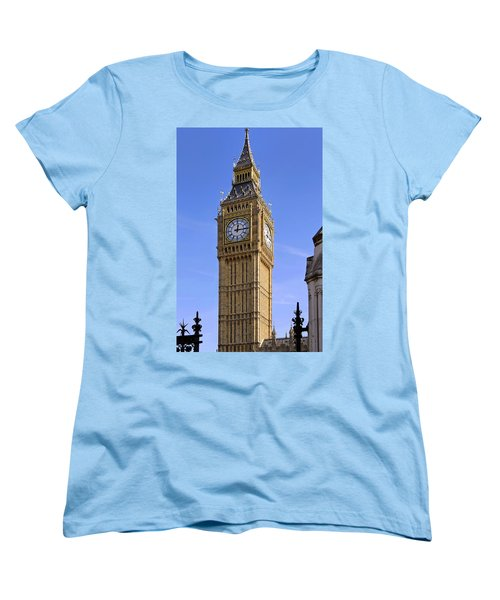 Big Ben Women's T-Shirt (Standard Cut) by Stephen Anderson