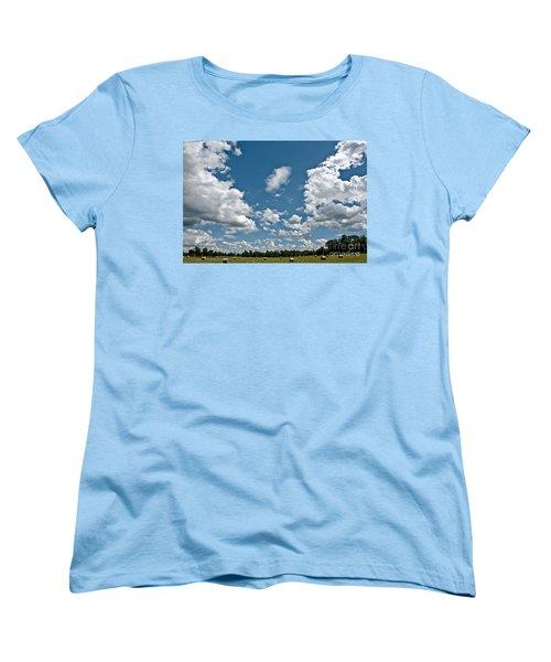 Big Sky Women's T-Shirt (Standard Cut) by Cheryl Baxter