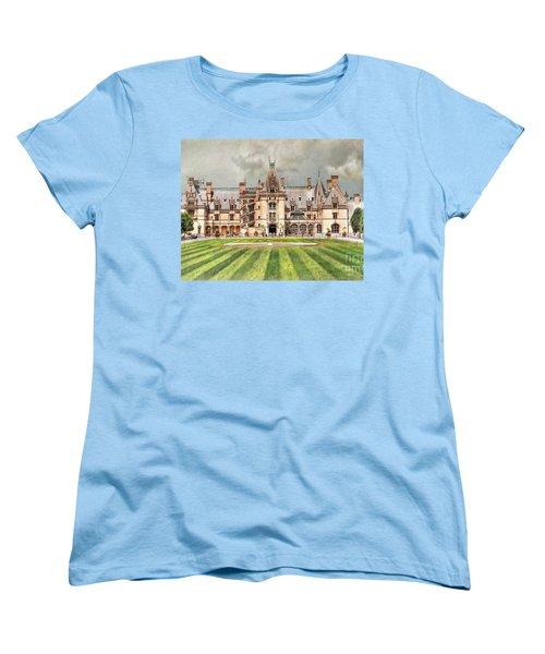 Biltmore House Women's T-Shirt (Standard Cut) by Savannah Gibbs